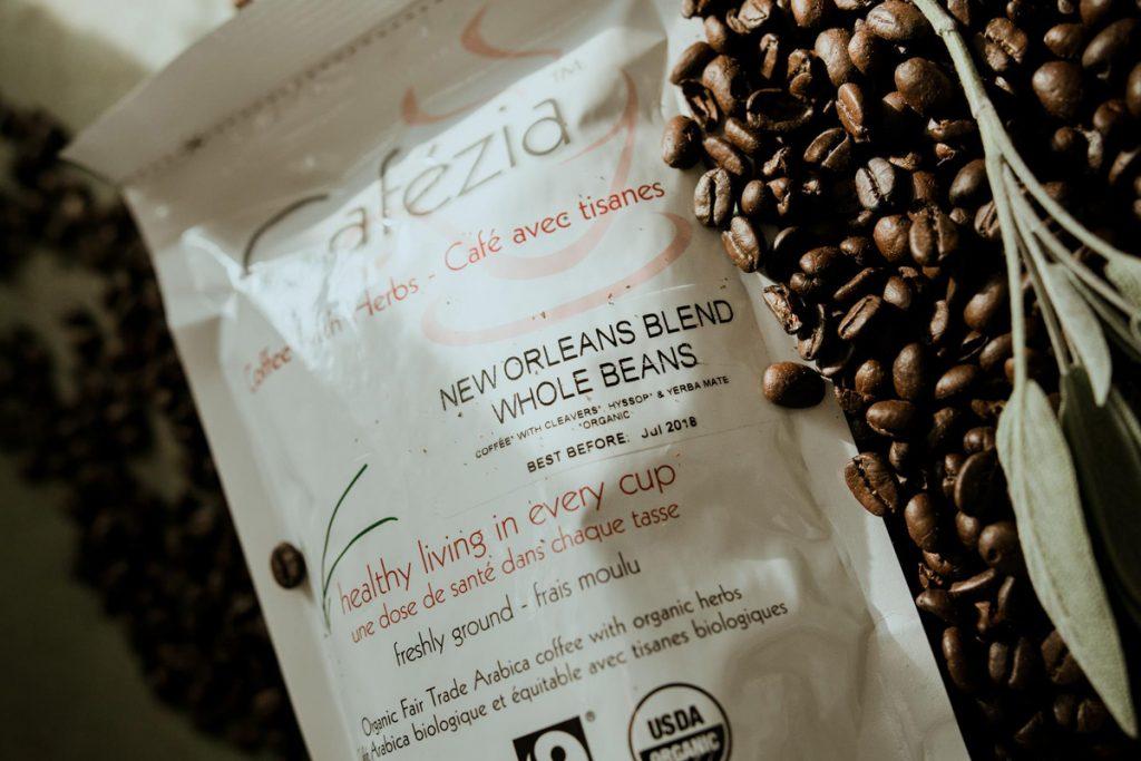 Bio organická zrnková káva Cafézia