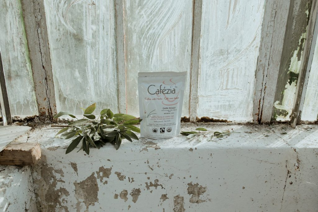 bio organická káva Cafézia