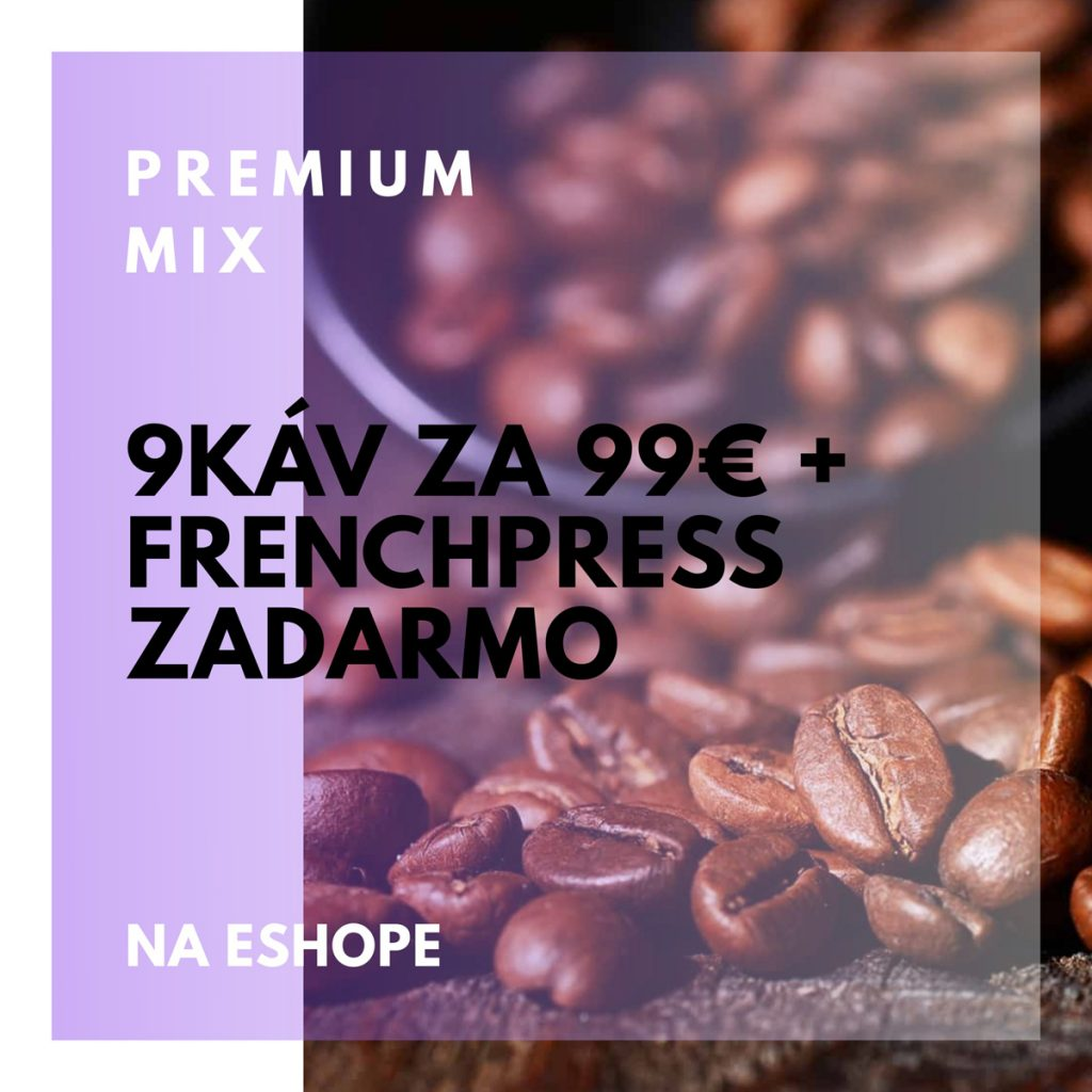 Bio organická káva Cafézia - AKCIA