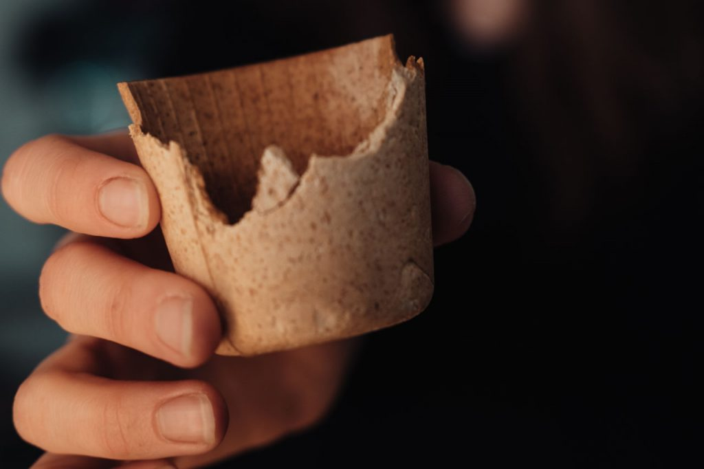 Pohár na kávu, ktorý sa dá jesť: Cupffee