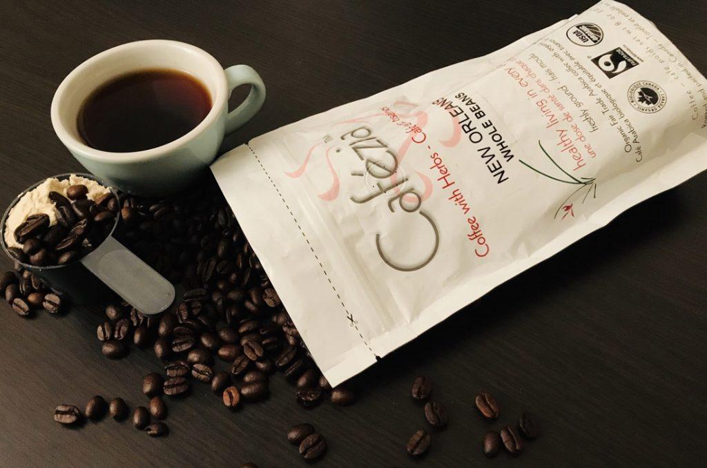 Káva s proteínom a Cafézia