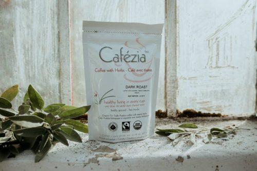 bio organická káva Cafézia, celé balenie, Dark Roast