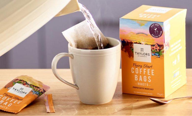 lúhovanie kávového vrecka