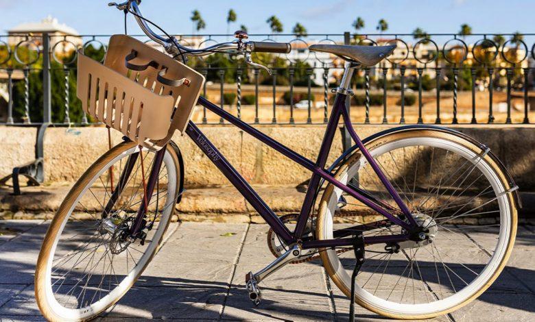 Bicykel z použitých kávových kapsúl Nespresso