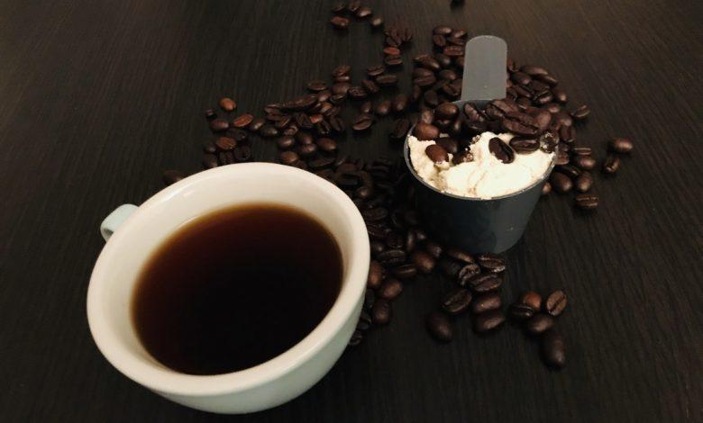 Káva s proteínom
