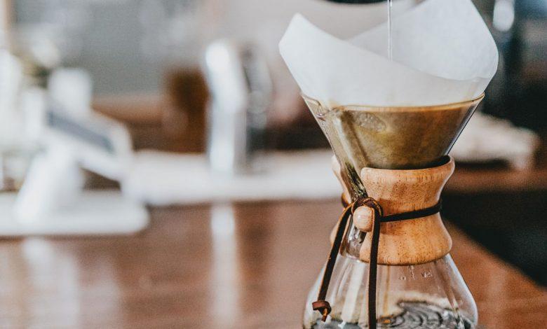 Zalievanie filtrovanej kávy