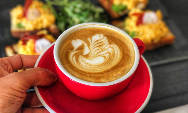 Cappuccino s latté art z Handlovej