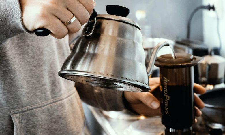 návod ako si pripraviť kávu cez aeropress