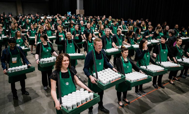 Kávy Starbucks zdarma