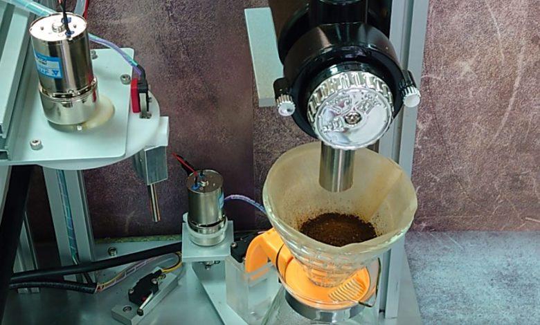 Kávovar na diaľkové ovládanie