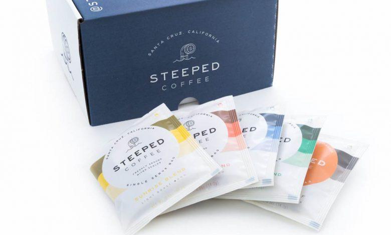Kvalitná káva vo vrecúškach: Steeped Coffee