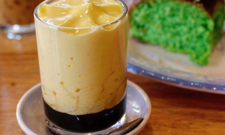 Vietnamská vajíčková káva cà phê trứng