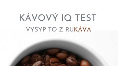 Photo of Kávový IQ TEST č. 3