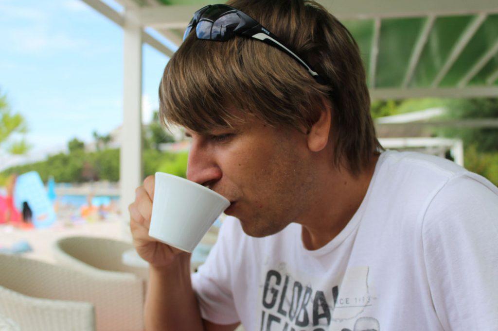 Majiteľ pražiarne coffeesquare, Martin Kurka