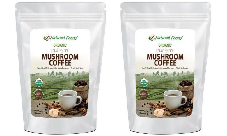 Organická instantná hubová káva