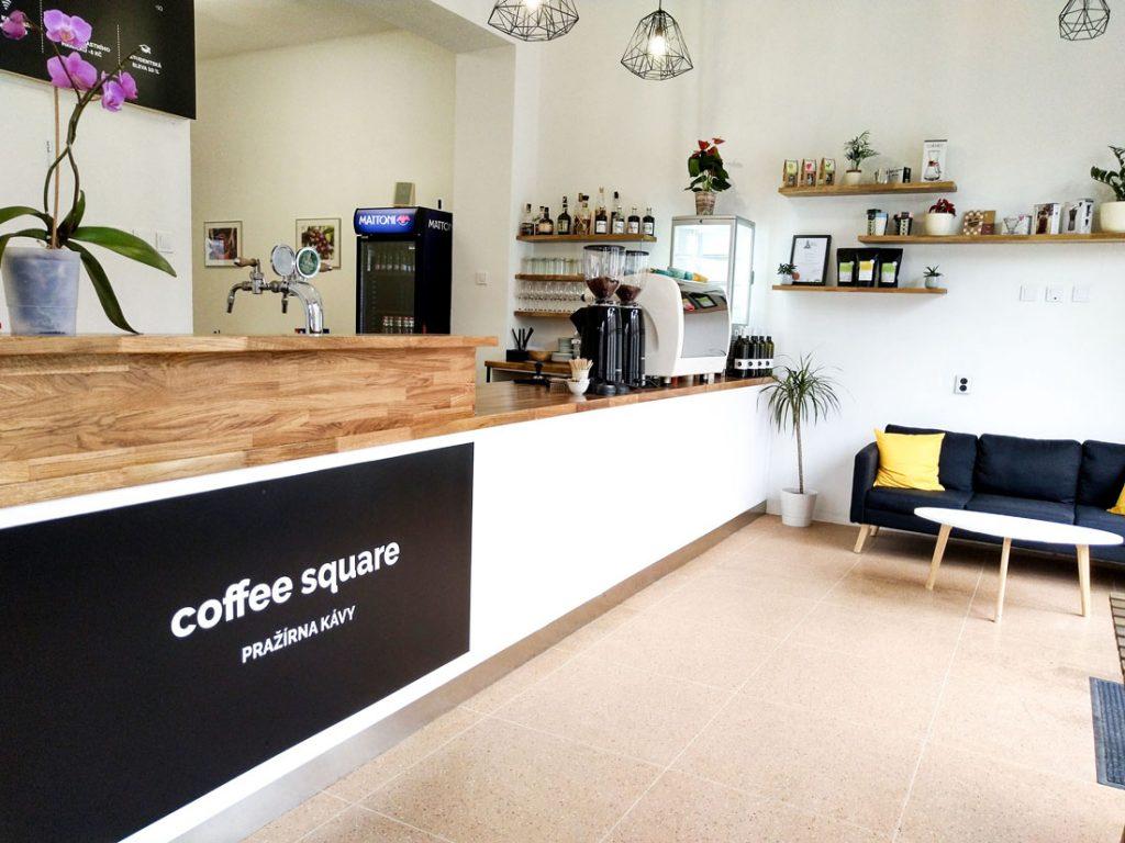 pražiareň kávy coffeesquare