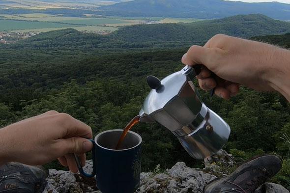 Káva na Havranej skale