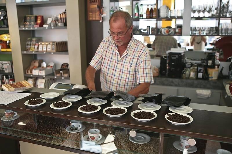 Michal Šturc, Casa del Caffé