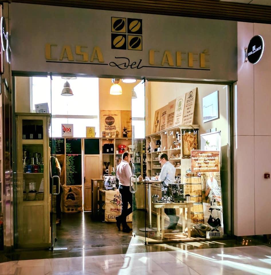 predajňa Casa del Caffé