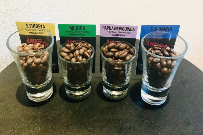 Perlová káva - peaberry