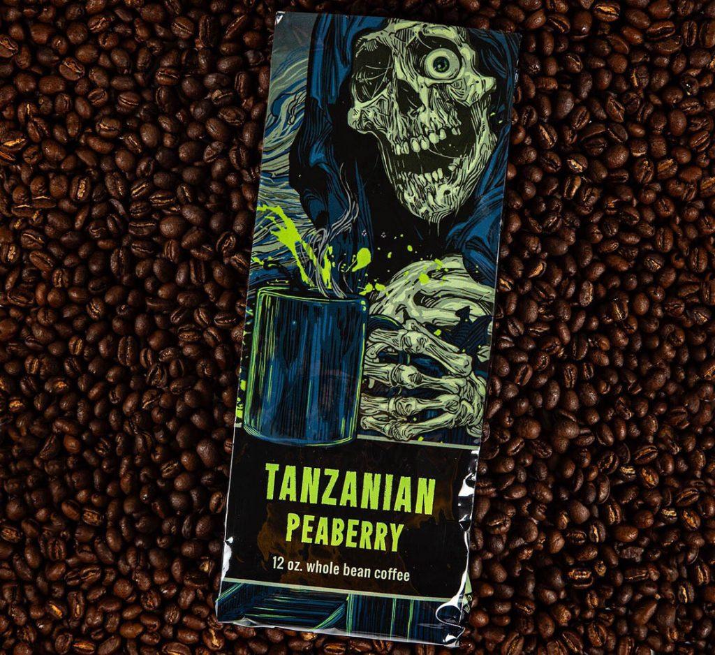 perlová káva, Tanzánia