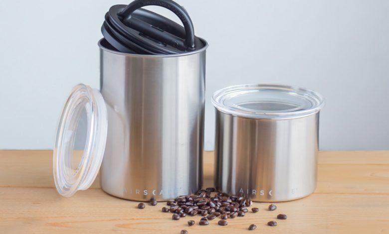 Dóza na kávu, nádoba na kávu