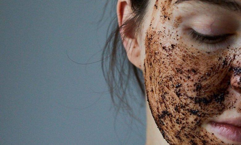 kávová maska a čistenie pleti