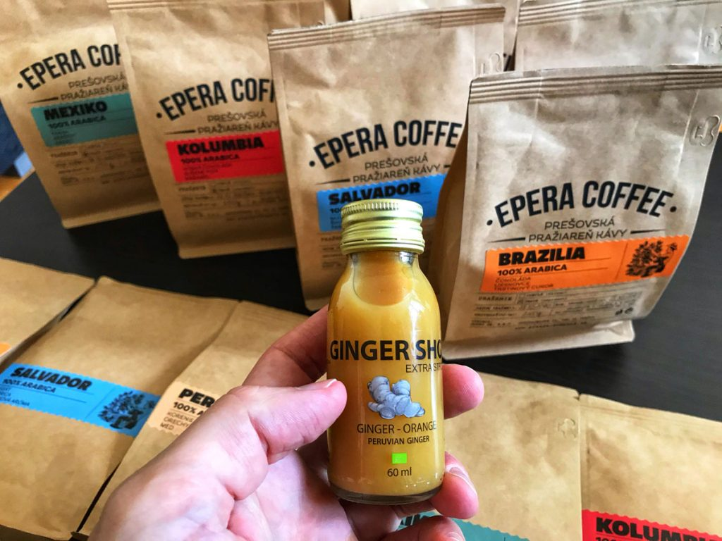 Epera Coffee a Ginger Shot