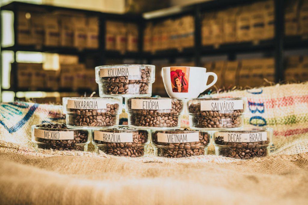 kávy pražené v Epera Coffee v Prešove