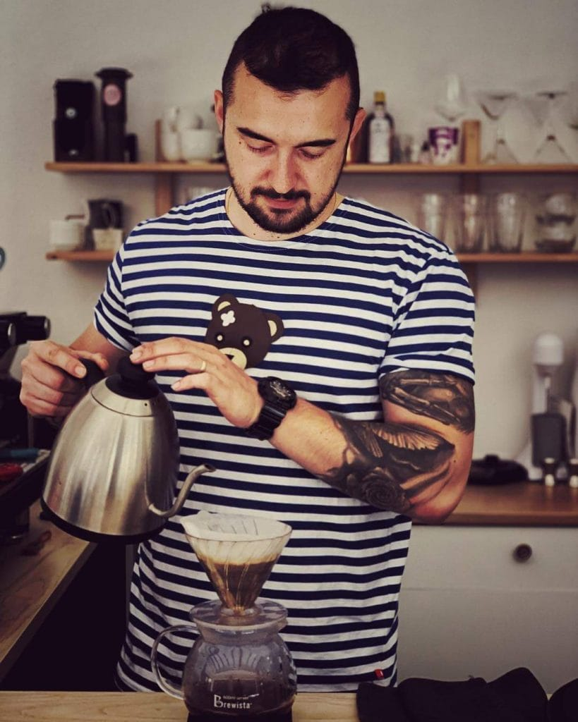 pražiareň kávy Lučenec Barista Coffee Roasters