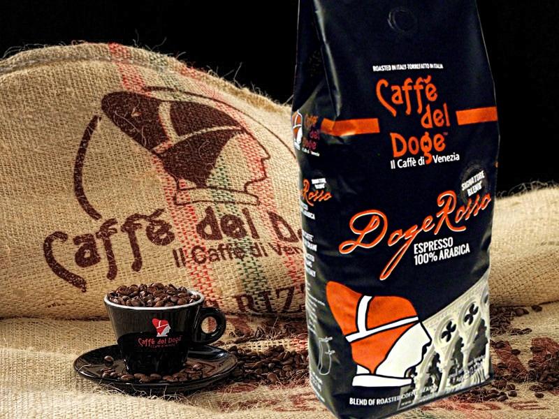 benátska pražiareň kávy Caffé del Doge