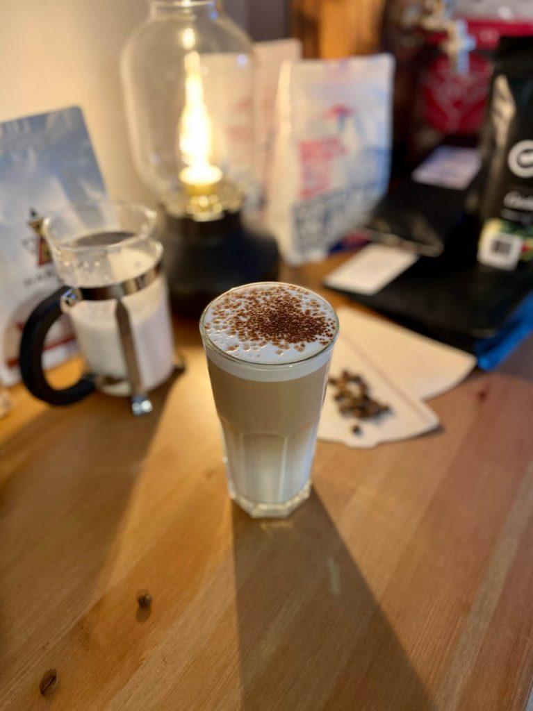 recept na prípravu latte macchiato