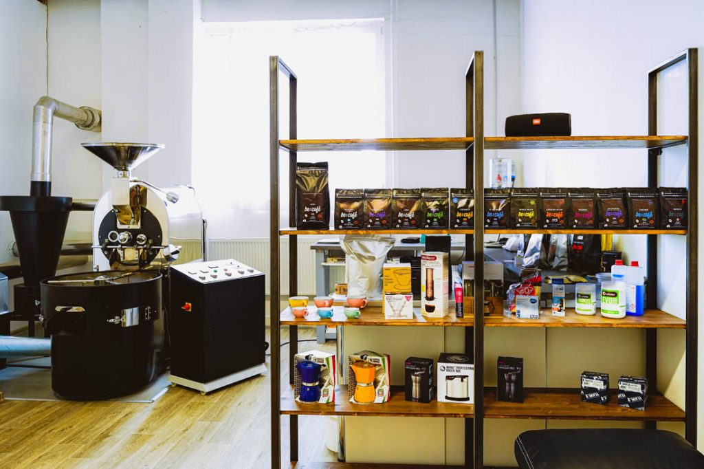 pražiareň kávy v Rajeckej doline, Becafé