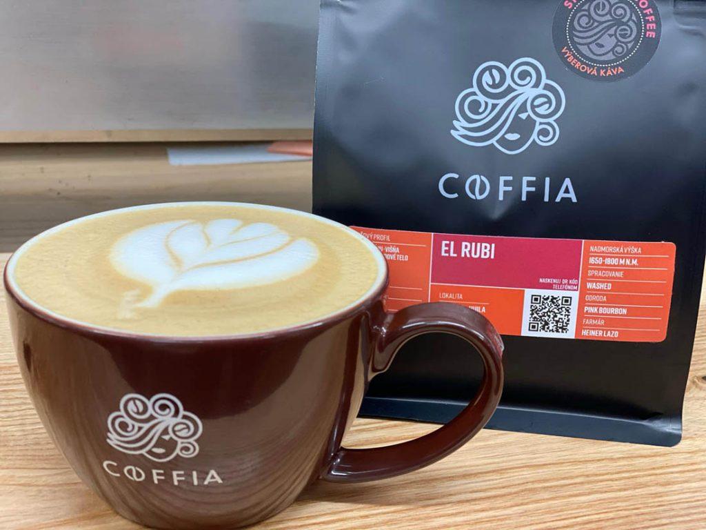 pražiareň kávy Coffia, káva EL RUBI