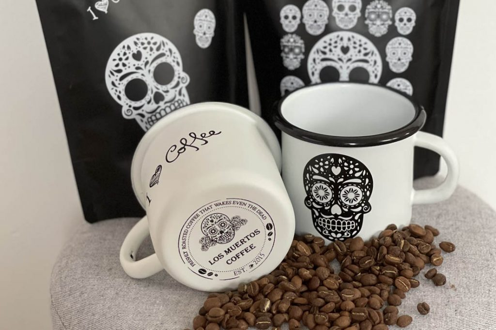 Los Muertos Coffee - česká pražiareň kávy