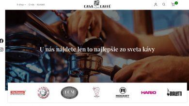 Photo of Casa del Caffé má nový eshop, využite uvádzaciu zľavu