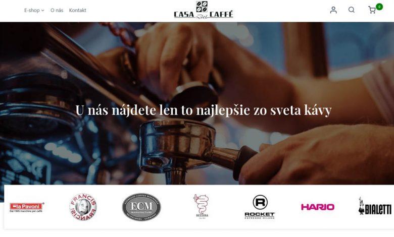 Casa del Caffé, nový eshop
