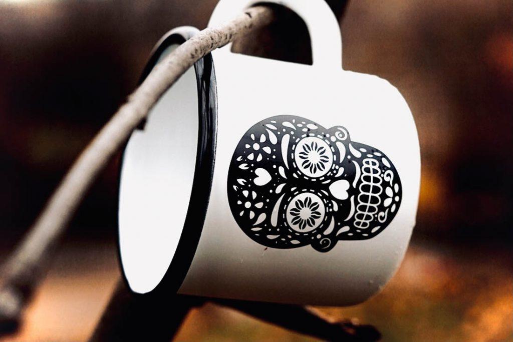 Los Muertos Coffee - hrnček na kávu