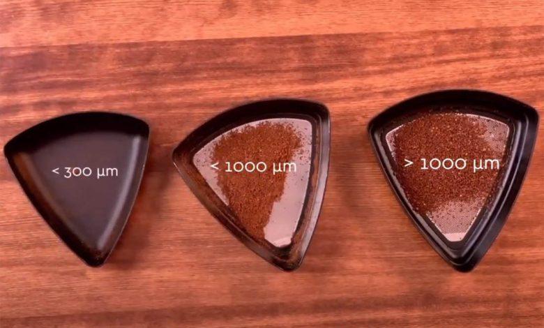 hrúbka mletia kávy