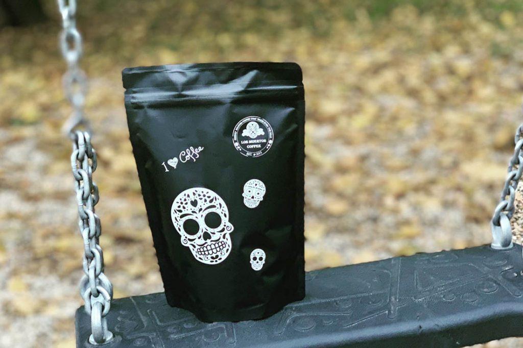 káva so smrtkami, Los Muertos Coffee