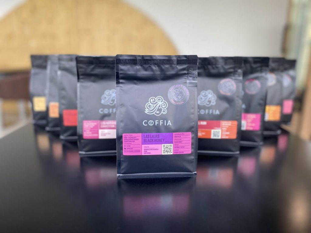 druhy kávy Coffia