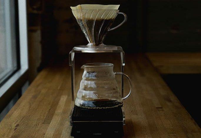 príprava kávy cez Hario V60