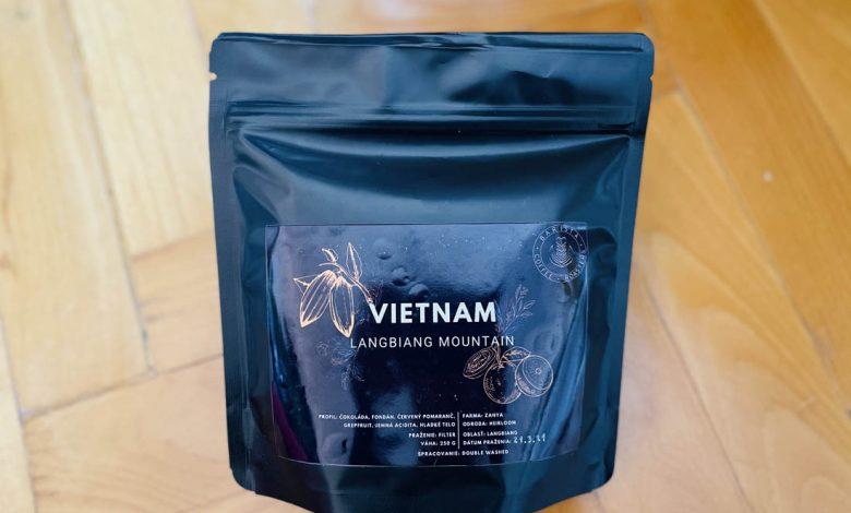 Vietnam Lang Biang Mountain Zanya Coffee
