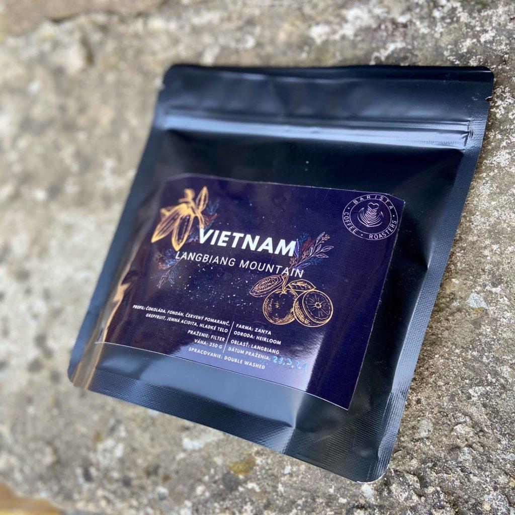 vietnamská káva od Slováka - Vietnam Lang Biang