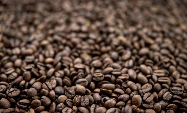 strata hmotnosti kávy počas praženia