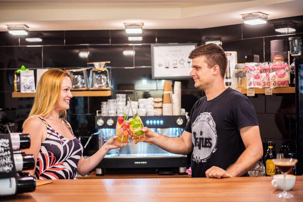 majitelia True Brew coffee bar