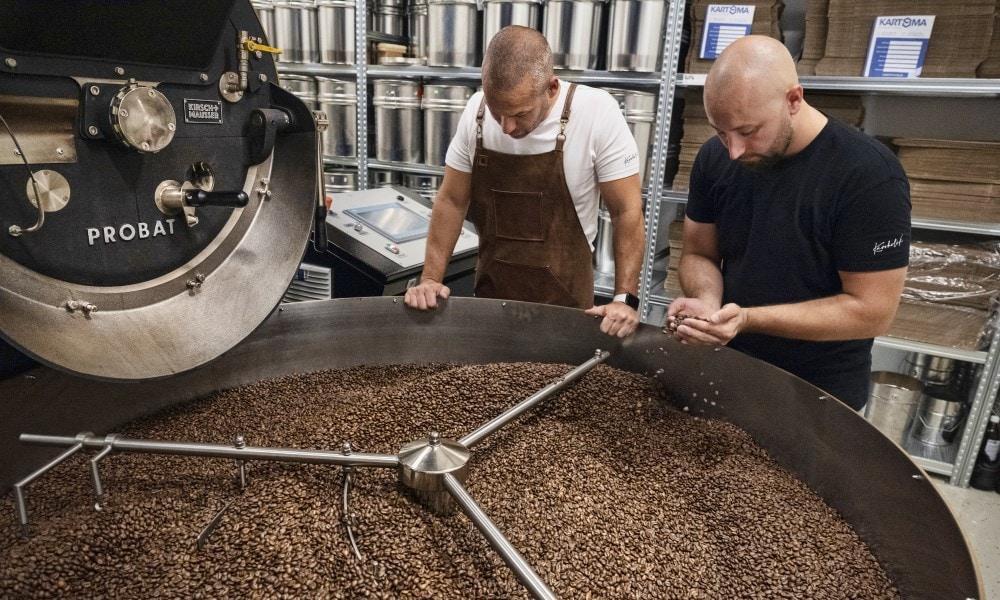 odborníci spoločnosti Kávoholik