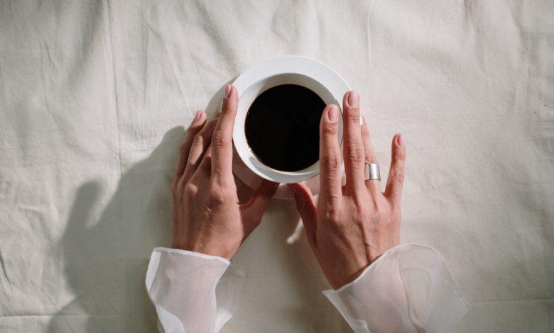 vplyv kávy na pokožku