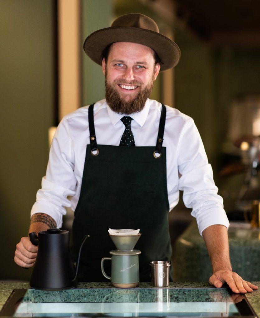 barista Martin Hudák